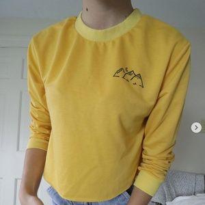 Yellow Mountain Crewneck